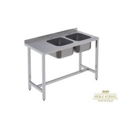 Stół z 2-komorami,  986 mm