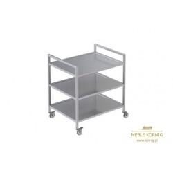 Wózek kelnerski 3-półkowy 810x545 mm