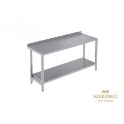 Stół prosty z 1-półką 1086 mm