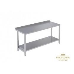 Stół prosty z 1-półką 1186 mm