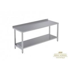 Stół prosty z 1-półką 1286 mm