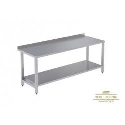Stół prosty z 1-półką 1386 mm