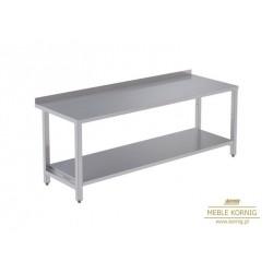Stół prosty z 1-półką 1486 mm