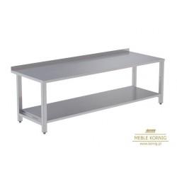 Stół prosty z 1-półką 1686 mm