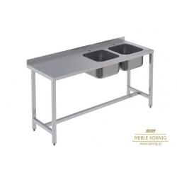 Stół z 2-komorami, 1286 mm