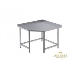 Stół narożny bez półek L  944x1044-mm