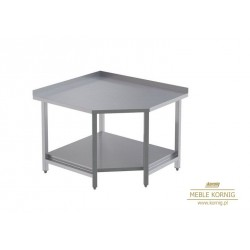 Stół narożny z 1-półką P 1044x944-mm