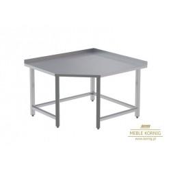 Stół narożny bez półek 1044x1044-mm