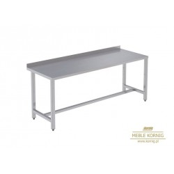 Stół prosty bez półek 1386 mm