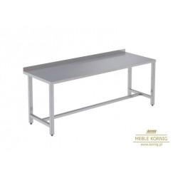 Stół prosty bez półek 1486 mm