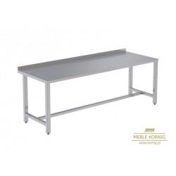 Stół prosty bez półek 1586 mm