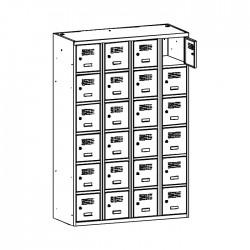 Szafa skrytkowa na książki MSUS 346 120/180 (moduł 30)