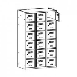 Szafa skrytkowa na książki MSUS 436 120/180 (moduł 40)
