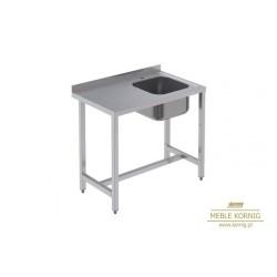 Stół z 1-komorą, 1286 mm