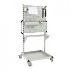 Wózek WAM do dezynfekcji z aplikatorem łokciowym