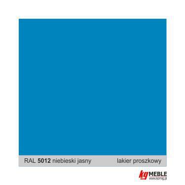 RAL 5012 niebieski j.