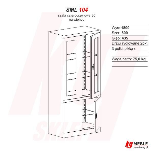 Szafa SML-104