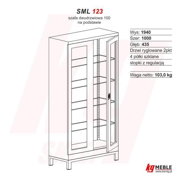 Szafa SML-123 na podstawie