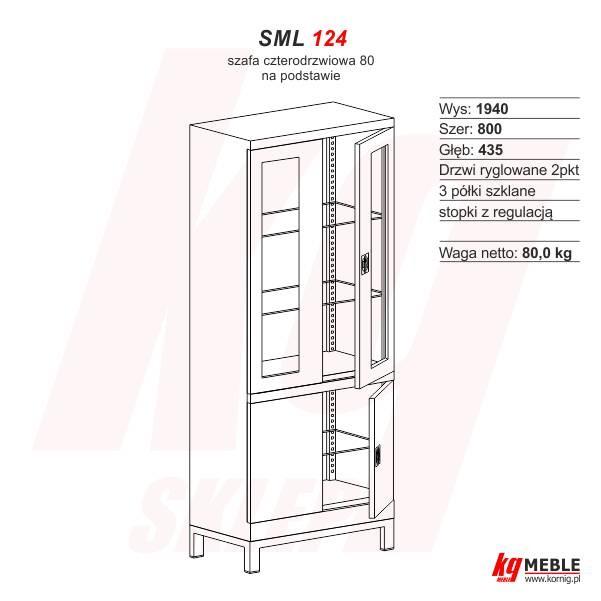 Szafa SML-124 na podstawie