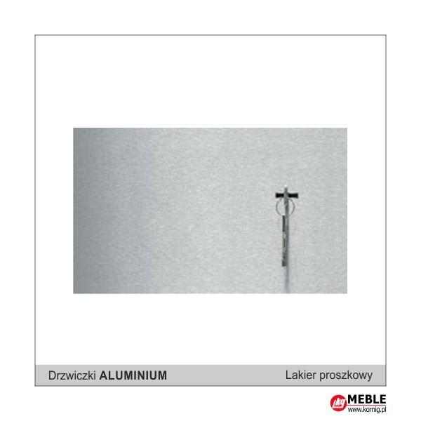 Drzwiczki aluminium (lakier proszkowy)
