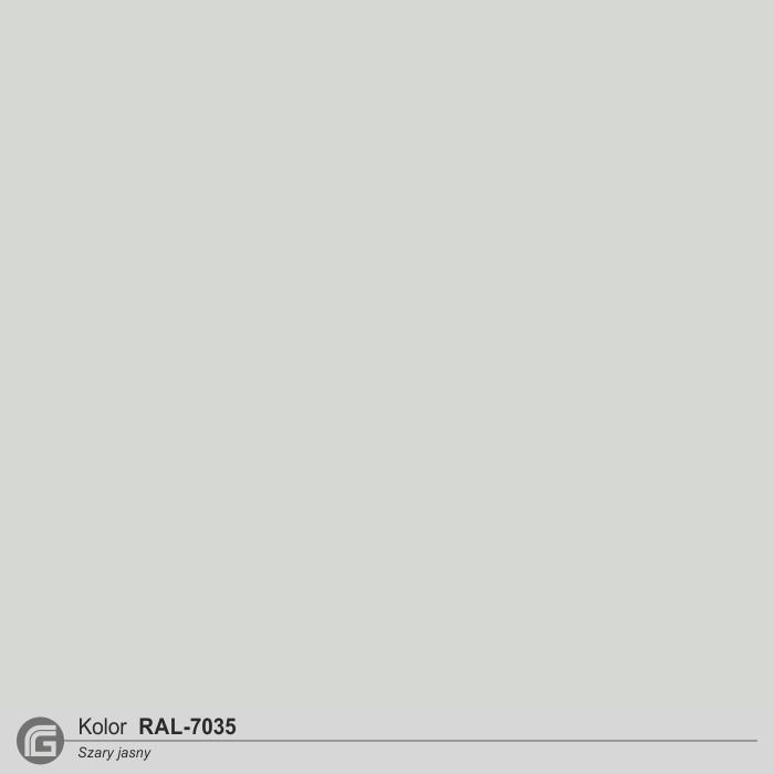 RAL 7035 szary jasny