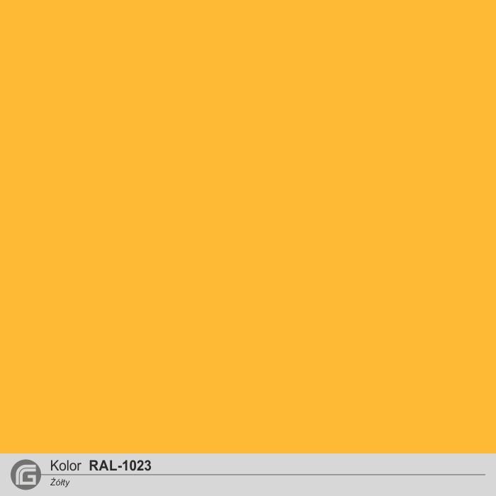 RAL 1023 żółty