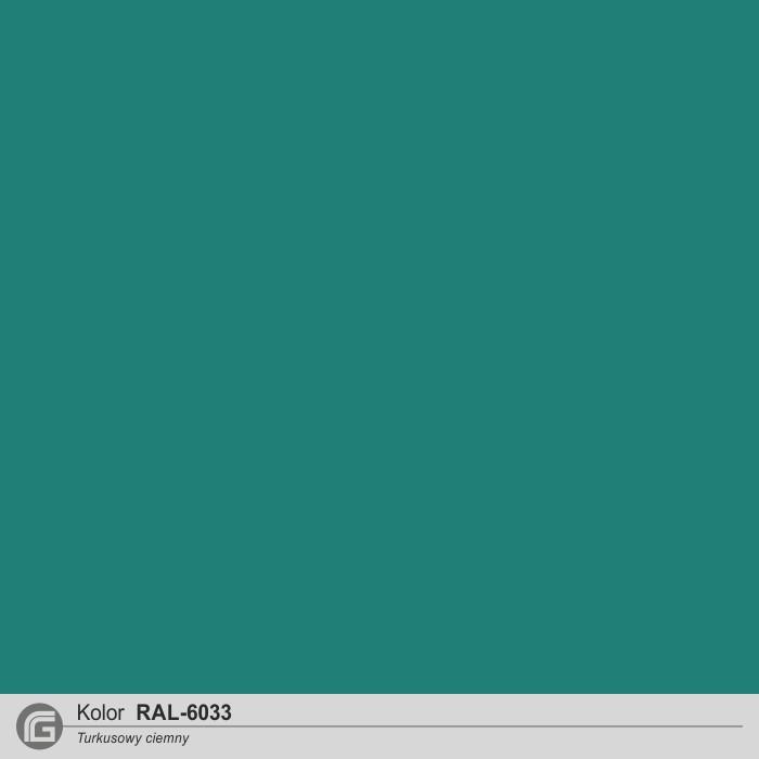 RAL 6033 turkusowy c.