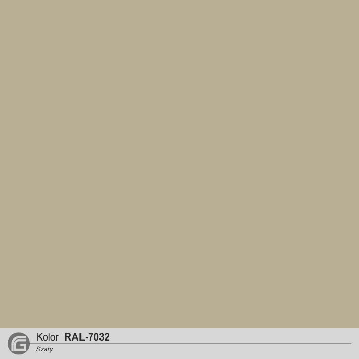 RAL 7032 szary