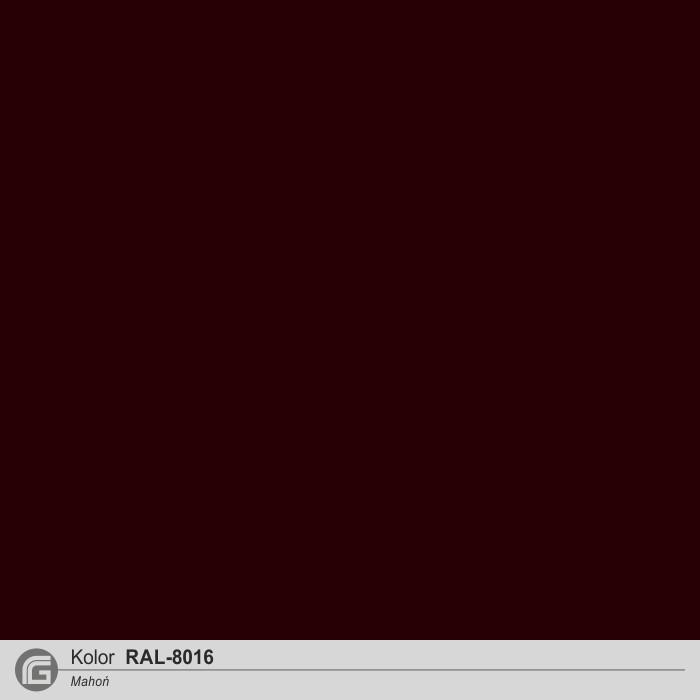 RAL 8016 mahoń