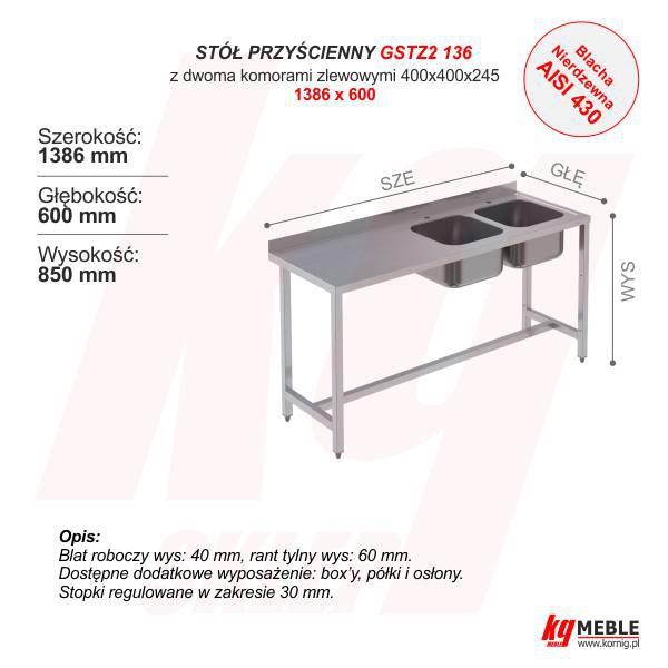 GSTZ2-136 1386x600 Nierdzewny