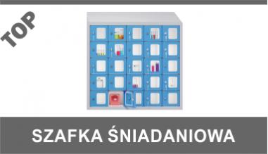 Szafka śniadaniowa z pleksi SUS 255-WP